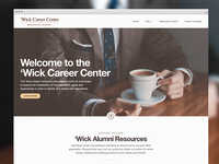 Career Center Homepage