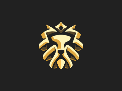 Lion King logo crown icon king lion logo animal