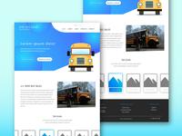 Bird Bus Sales Home Landing Page