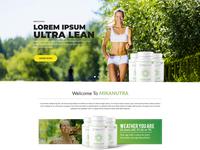 Mikanutra Web Page Design