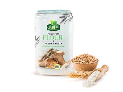 Premium Flour Fresh & Tasty - Packaging Design