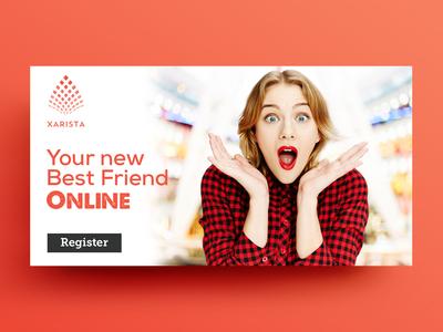 Your New Best Friend Online Banner Design