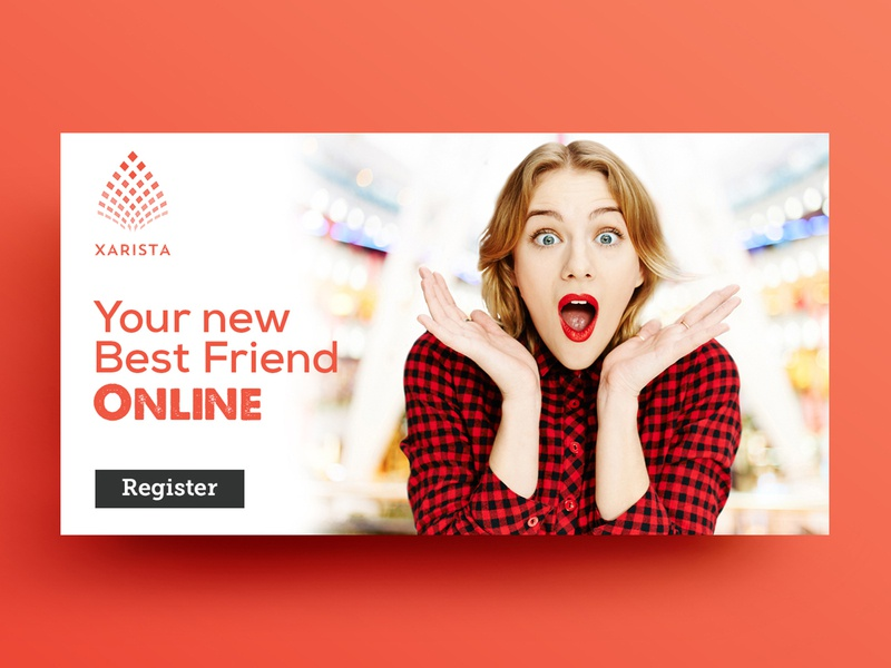 Your New Best Friend Online Banner Design by Nisha Droch on Dribbble