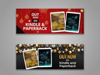Out Now on Kindle & Paperback Banner Design