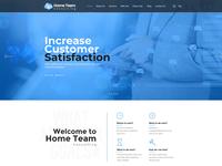 Increase Customer Satisfaction Web Page Design