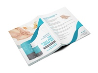 The Foot Peel Home Kit Brochure Design