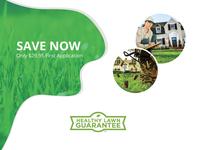 Healthy Lawn Guarantee Web Page Design