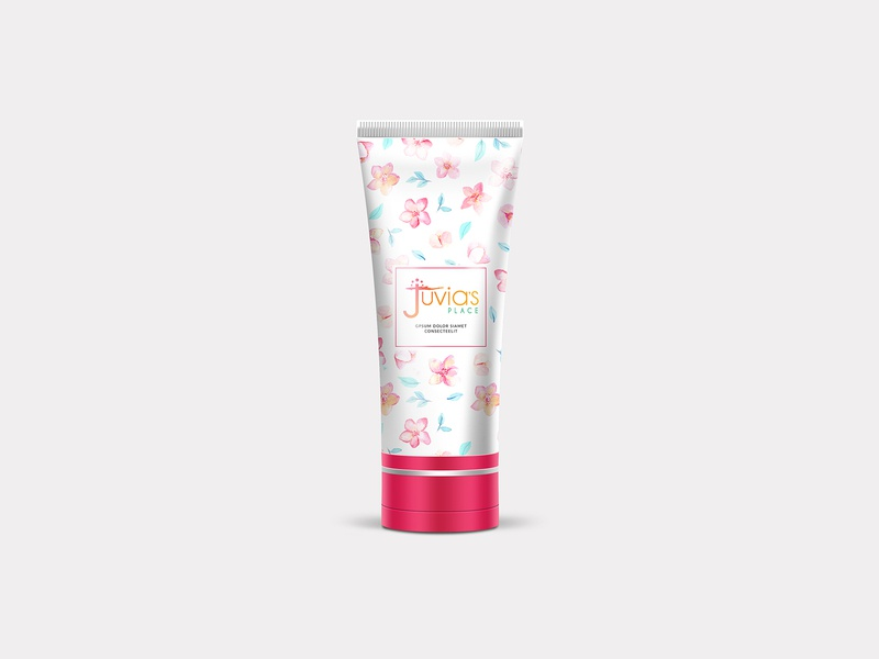 Juvias Packaging Design nisha f1 nisha droch nisha beauty label mockup label design package design product packaging