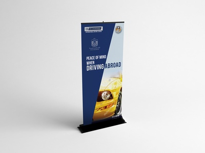 Peace Of Mind When Driving A Broad Roll Up Banner