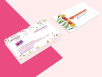 Birthday Songs Business Card