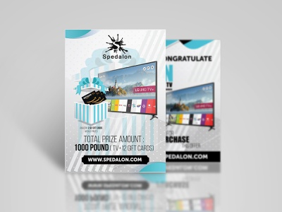 Spedalon Flyer Design branding poster graphics flyer design banner advertisement ad nisha f1 nisha droch nisha