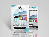 Spedalon Flyer Design