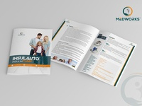 Insulauto Insulin Pump Brochure Design