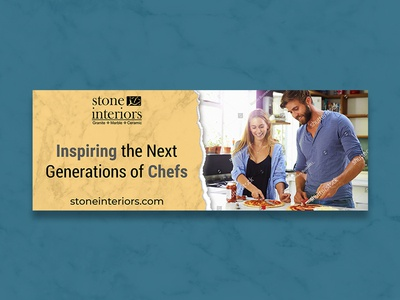 Inspiring The Next Generations Of Chefs Banner Design