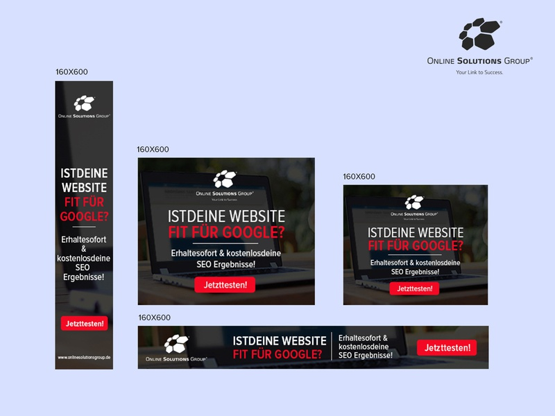 Online Solutions Group Banner Design by Nisha Droch on Dribbble