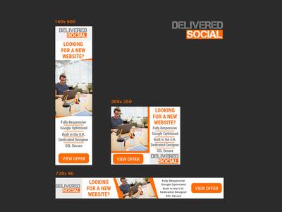 Delivered Social Banner Design
