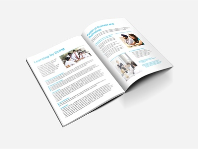 Business And Technology Brochure Design
