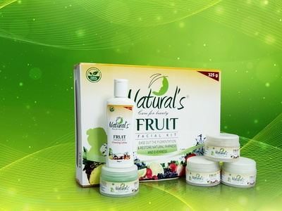 Fruit Facial Kit Packaging Design