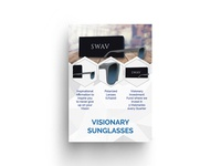 Visionary Sunglasses Flyer Design