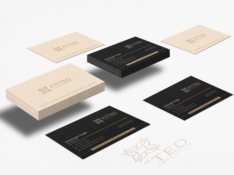 Fitted Kitchen Bedroom Business Card By Nisha Droch On Dribbble