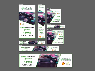 Carte Carburant Banner Design