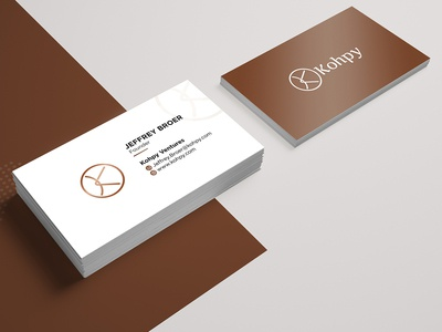 Kohpy  Business Card Design