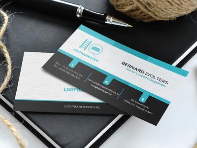 HQ Business Card Design