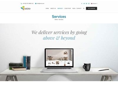 Services Web Page Design