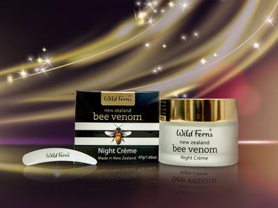 Bee Venom Night Cream Packaging Design