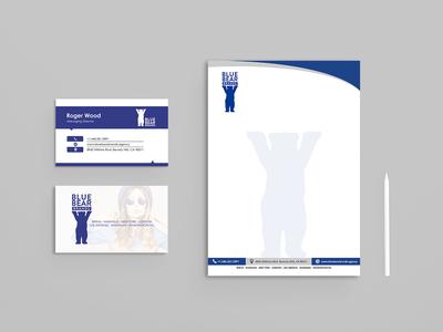 Blue Bear Brands Branding Design