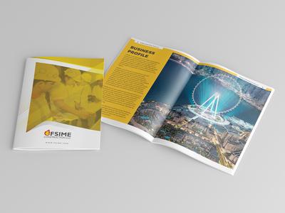 Business Profile Brochure Design