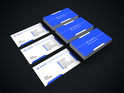 Shivr Business Card Design