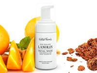 Lanolin Facial Wash Packaging Design