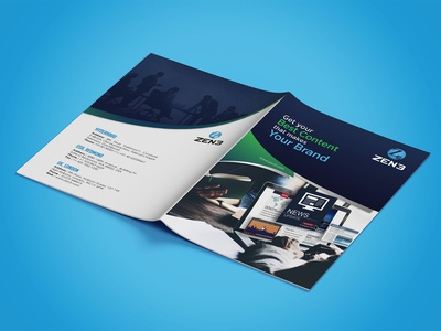 Zen3 Brochure Design