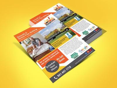 Smooth & Stress Free Shifting Flyer Design