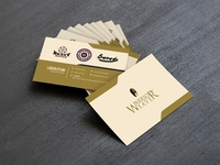 Warrior Weaver Business Card Design