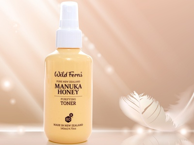Manuka Honey Packaging Design