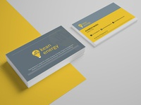 Kean Energy Business Card Design