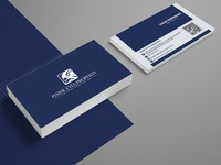 Hawk Eyes Property Business Card Design