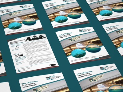 The Ultimate Immersive Experience Brochure Design