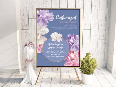 Customized Dream Event Flyer Design