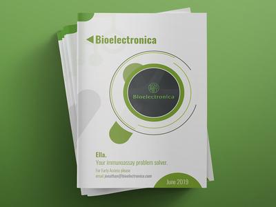 Bioelectronica Brochure Design