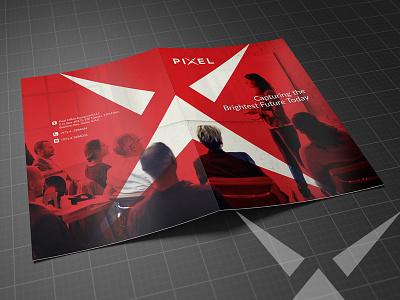 Pixel Brochure Design nisha f1 nishadroch nisha graphics design catalog brochure mockup brochure layout brochure design brochure advertisement