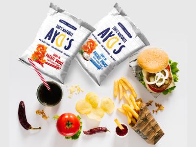 Natural Chips Packaging Design