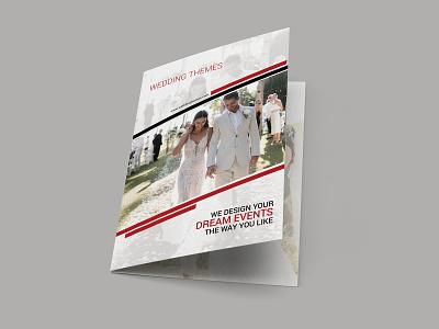 Wedding Themes Brochure Design nisha f1 nishadroch nisha graphics design catalog brochure mockup brochure layout brochure design brochure advertisement