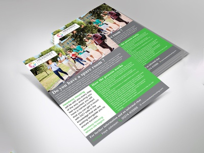 Headway Housing Flyer Design