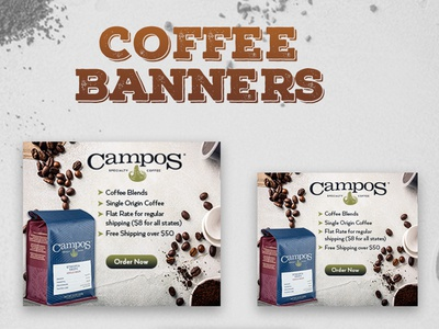 Coffee Banner Design