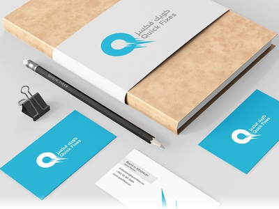 Quick Fixes Business Card Design