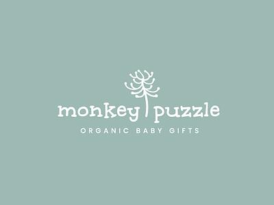 Logo Design for Organic Baby Gifts Retailer branding logo design