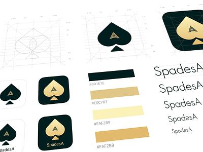 Spades A logo ui logo